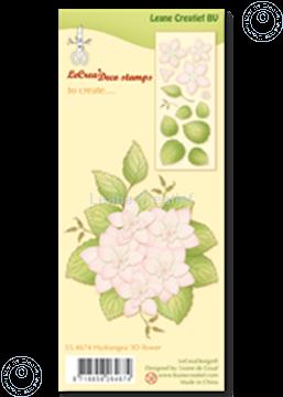 Image de Clear stamp  Hydrangea 3D flower