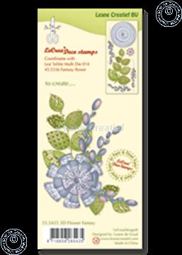 Bild von Clear stamp 3D flower Fantasy