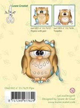Picture of Clearstamp Owlie´s Owl002 Pipa