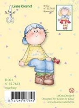 Picture of Clearstamp Bambinie´s B001 rose boy