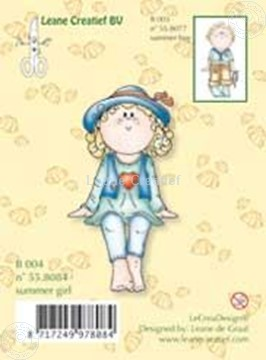 Image de Clearstamp Bambinie´s B004 Summer girl