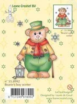 Image de Clearstamp Bearie's boy winter