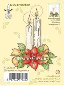 Image de Christmas arrangement 1 with ponsettia