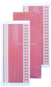 Picture of Lines stickers diamond pink