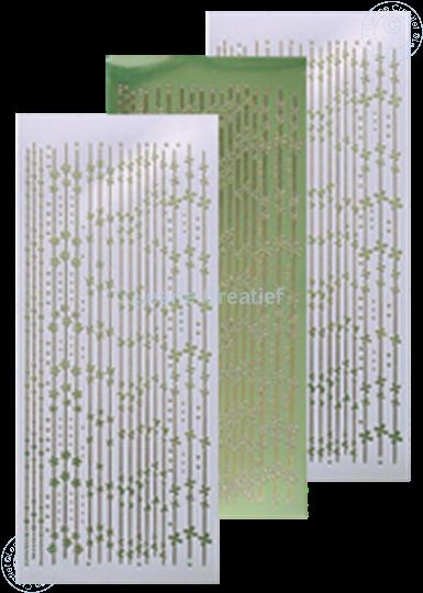 Bild von Linien Sticker mirror apple