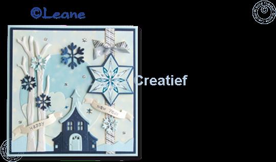 Afbeelding van Star Sticker Christmas white