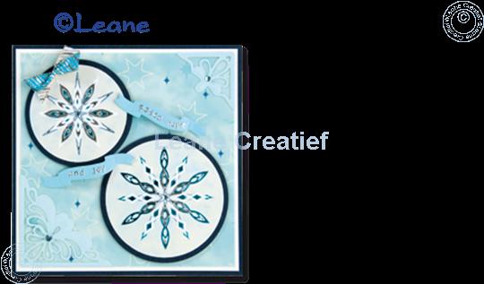 Image sur Star Sticker Christmas mirror blue