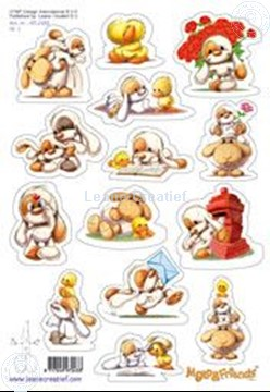 Picture of LeCreaDesign® Mylo & Friends® stickers A5 #1