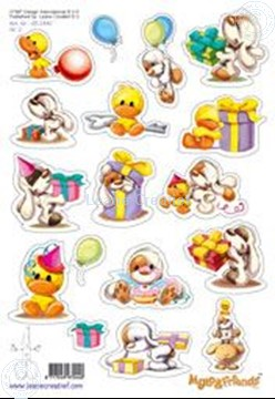 Picture of LeCreaDesign® Mylo & Friends® stickers A5 #2
