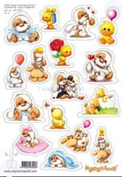 Picture of LeCreaDesign® Mylo & Friends® stickers A5 #3