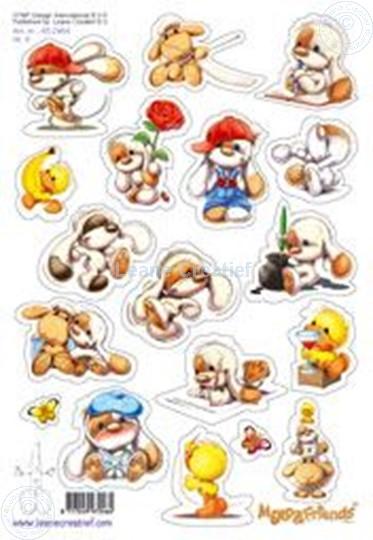 Afbeelding van LeCreaDesign® Mylo & Friends® Stickers A5 #4
