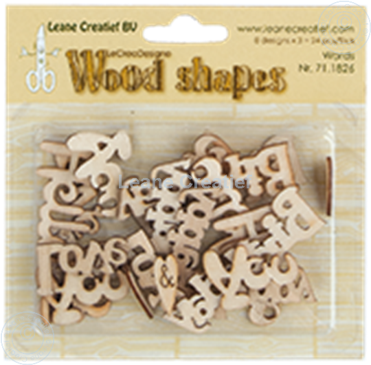 Picture of Woodshapes Words from the heart