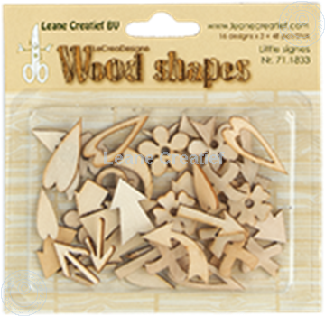 Image de Woodshapes Little Signs