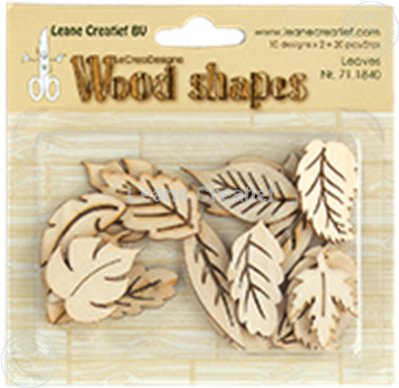 Image de Woodshapes Leaves
