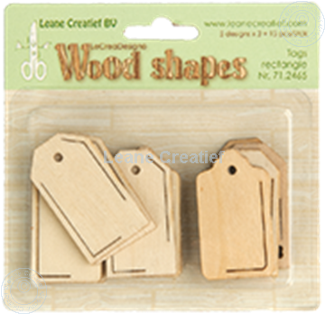 Image de Woodshapes Tags rectangle