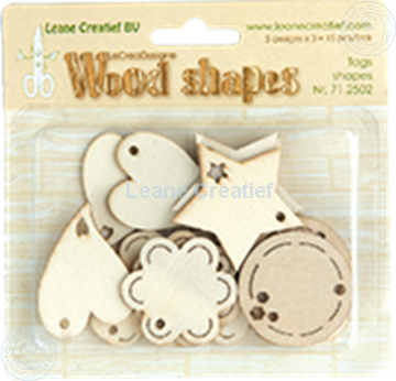 Image de Woodshapes Tag shapes