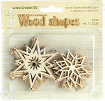 Image de Woodshapes Stars