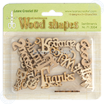 Picture of Woodshapes Sentiments
