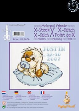 Picture of Mylo & Friends® cross stitch kit #4