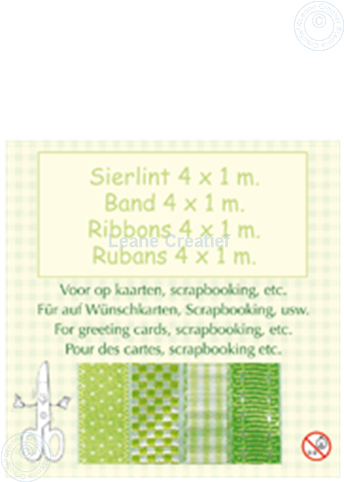 Image sur Ruban 4x1 m vert