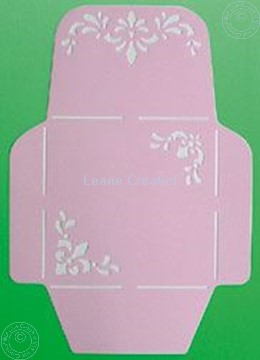 Picture of LeCreaDesign® Envelope stencil 14,5x14,5cm