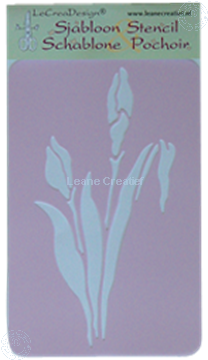 Picture of LeCreaDesign® Stencil Iris small