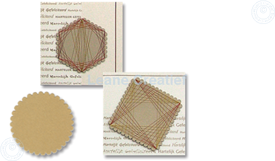 Afbeelding van LeCreaDesign® Spirella variaties goud