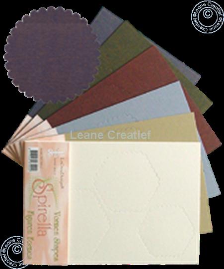 Afbeelding van LeCreaDesign® Spirella variaties blauw
