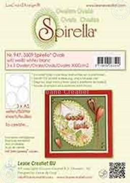 Afbeeldingen van LeCreaDesign® Spirella® ovalen