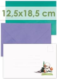Afbeelding voor categorie Enveloppen 12.5x18.5cm