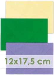 Afbeelding voor categorie Enveloppen 12x17,5cm