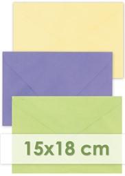 Afbeelding voor categorie Enveloppen 15x18cm