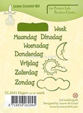 Picture of Dagen van de week NEDERLANDS
