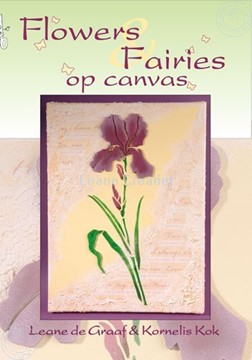 Bild von Elfen & Blumen auf Keilrahmen (Holländisch)