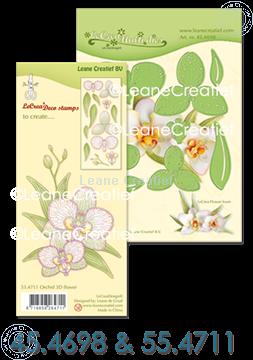 Afbeeldingen van Set Multi Die & Clearstamp Orchid