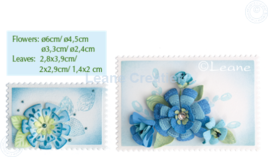 Afbeelding van Set Multi Die & Clearstamp Fantasy Flower