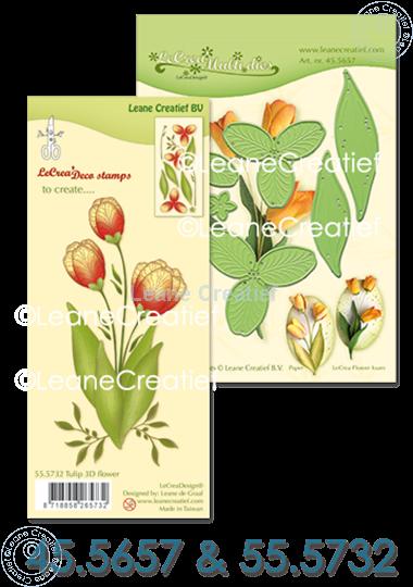 Afbeelding van Set Multi Die & Clearstamp Tulip