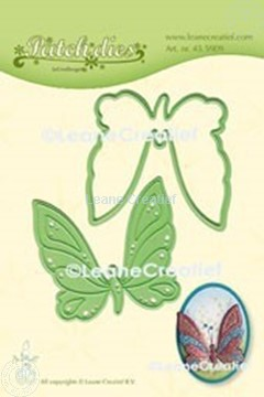 Picture of Lea'bilitie® Patch die Butterfly  cut and embossing die