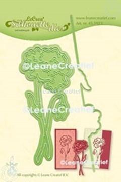 Bild von Lea'bilitie® Klatschmohn Silhouette Präge- und Schneideschablone