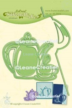 Picture of Lea'bilitie® Coffee Time  silhouette cut and embossing die