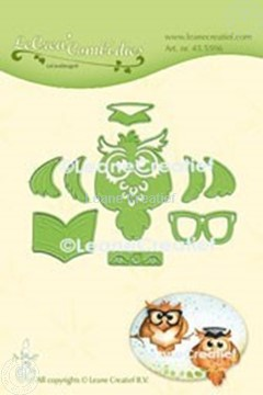 Picture of  Owl Graduation cut and embossing die