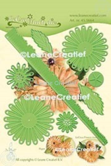 Bild von Multi die Flower 018 Chrysanthemum Präge- und Schneideschablone