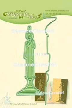 Picture of Lea'bilitie® Candle silhouette cut and embossing die