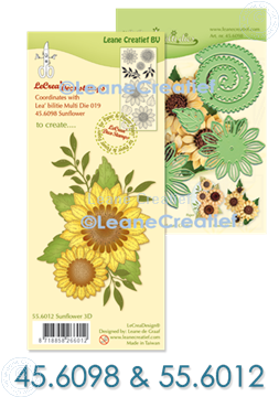 Picture of  Multi die & Clear stamp Sunflower