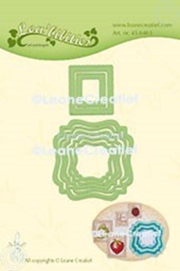 Afbeelding van Lea'bilitie® Frames swirl & postzegels  snij en embossing mal