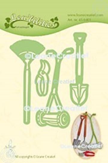Afbeelding van Lea'bilitie® Tuin set grasmaaier, schep, hark snij en embossing mal