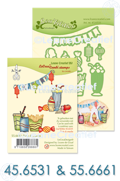 Afbeeldingen van Set Lea'bilitie & Clearstamp Party & Snacks
