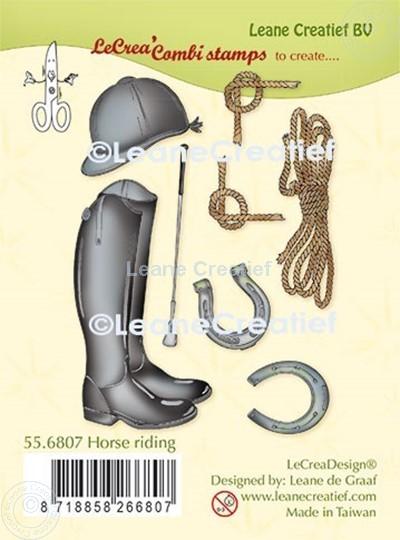 Image sur LeCreaDesign® tampon clair à combiner Monter de cheval