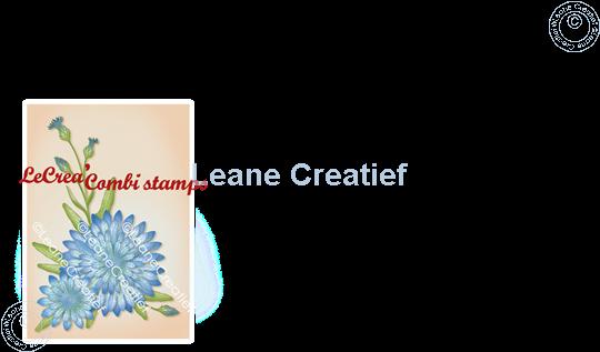 Afbeelding van LeCreaDesign® deco clear stamp Korenbloem 3D