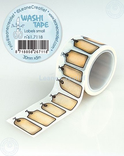 Picture of Washi tape Labels small, 30mm x 5m.